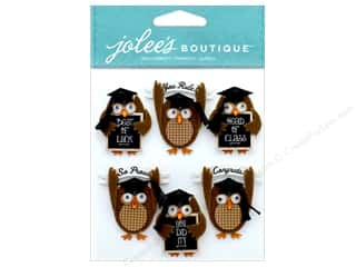 stickers: EK Jolee's Boutique Repeats Graduation Owl