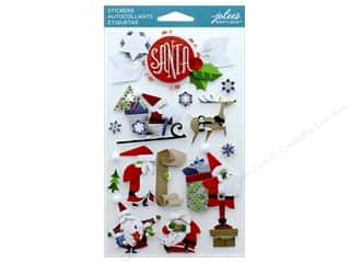 stickers: EK Jolee's Boutique Santa