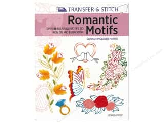 Transfer & Stitch Romantic Motifs Book by Carina Envoldsen-Harris