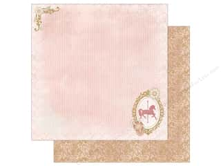 "Cardstock: Authentique Collection Imagine Paper 12""x 12"" Two (25 pieces)"