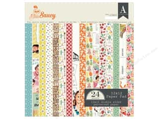 "Authentique Collection Saucy Paper Pad 12""x 12"""
