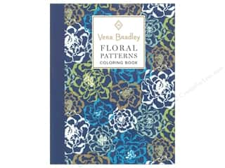 Vera Bradley Floral Patterns Coloring Book