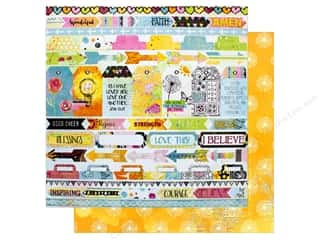 "Bo Bunny Collection Faith Paper 12""x 12"" Rejoice (25 pieces)"