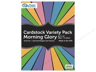 Paper Accents Cardstock Variety Pack 8 1/2 x 11 in. Morning Glory 10 pc.