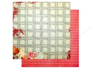 "scrapbooking & paper crafts: Bo Bunny Collection Aryia's Garden Paper 12""x 12"" Trellis (25 pieces)"