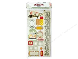 scrapbooking & paper crafts: Bo Bunny Collection Aryia's Garden Chipboard