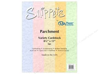 Paper Accents Cardstock Variety Pack 8 1/2 x 11 in. Parchment 5 pc.