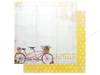 "scrapbooking & paper crafts: Bo Bunny Collection Petal Lane Paper 12""x 12"" (25 pieces)"