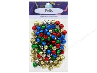 craft & hobbies: PA Essentials Jingle Bells 1/2 in. 108 pc. Multi