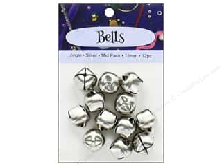PA Essentials Jingle Bells 5/8 in. 12 pc. Silver