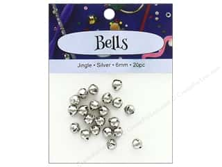 PA Essentials Jingle Bells 1/4 in. 20 pc. Silver