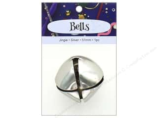PA Essentials Jingle Bells 2 in. 1 pc. Silver