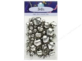 PA Essentials Jingle Bells Assorted Sizes 43 pc. Silver