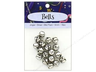 PA Essentials Jingle Bells 3/8 in. 18 pc. Silver