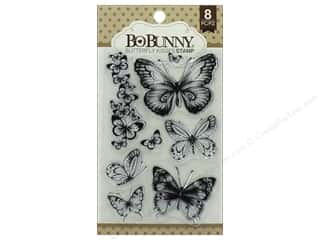 scrapbooking & paper crafts: Bo Bunny Stamp Essentials Butterfly Kisses