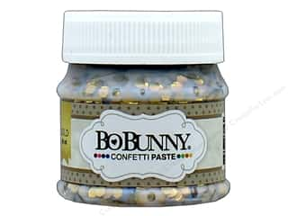 Bo Bunny Confetti Paste 1.69 oz. Gold