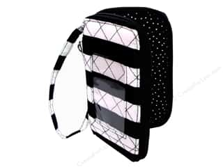Darice Smartphone Wristlet Wallet - Black & White Stripes