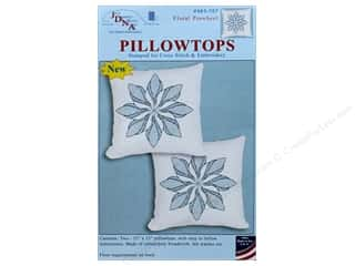 yarn & needlework: Jack Dempsey Pillowtop Floral Pinwheel