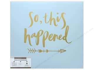 K & Company 12 x 12 in. Scrapbook Album So This Happened Foil