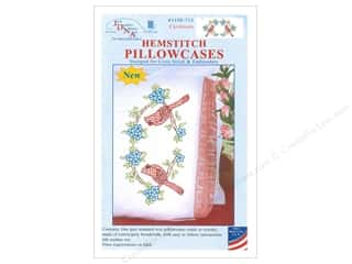 yarn & needlework: Jack Dempsey Pillowcase Hemstitched White Cardinals