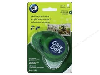 "craft & hobbies: Glue Dots Removable 3/16"" Square Dispenser 450pc"