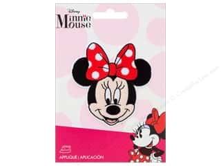 Simplicity Applique Disney Iron On Small Minnie Head
