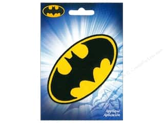 Simplicity Applique DC Comics Iron On Small Batman Logo