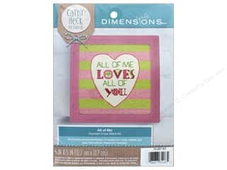 "Dimensions Cross Stitch Kit 5""x 5"" Cathy Heck All of Me"