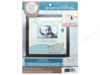 "yarn & needlework: Dimensions Cross Stitch Kit 8""x 8"" Cathy Heck Little Peanut"