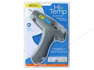 Hot glue gun and glue sticks: Adhesive Technology High Temp Glue Gun Full Size