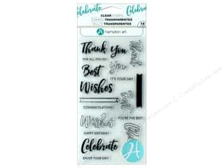 Hampton Art Stamp Clear Layer Words
