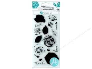 stamps: Hampton Art Stamp Clear Layer Roses