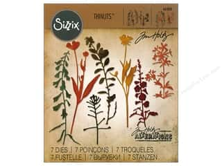 die cutting machines: Sizzix Dies Tim Holtz Bigz Wildflowers