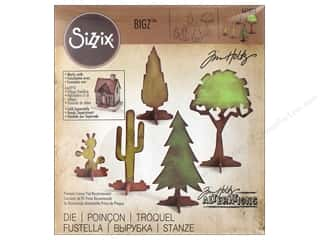 die cutting machines: Sizzix Dies Tim Holtz Bigz Village Landscape