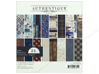 "Authentique Collection Rugged Bundle Pad 6""x 6"""