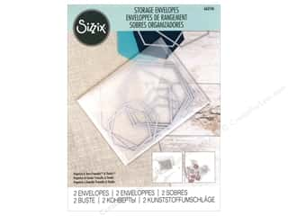 "Sizzix Storage Plastic Envelopes 9""x 11.75"""