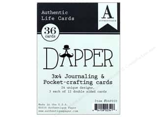 scrapbooking & paper crafts: Authentique Collection Dapper Life Card