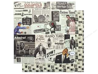 "Authentique Collection Dapper Paper 12""x 12"" One (25 pieces)"