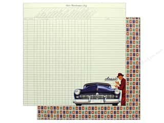 "Authentique Collection Dapper Paper 12""x 12"" Two (25 pieces)"