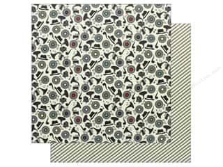 "Authentique Collection Dapper Paper 12""x 12"" Four (25 pieces)"