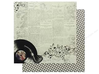 "scrapbooking & paper crafts: Authentique Collection Dapper Paper 12""x 12"" Five (25 pieces)"