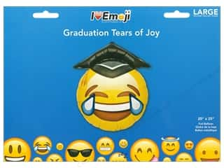 novelties: Everything Emoji Balloon Graduation Tears Of Joy