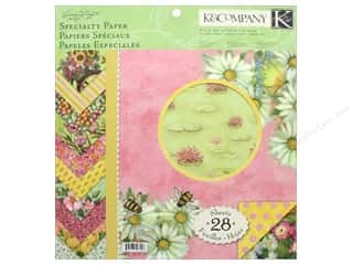 "K&Company Paper Pad Susan Winget Spring Blossom Specialty 12""x 12"""