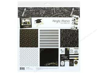 "Simple Stories: Simple Stories Collection Grad Collection Kit 12""x 12"""