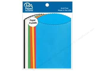Paper Accents Pocket 3 1/2 x 5 in. Assorted 10 pc.