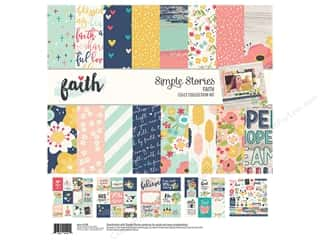 "Simple Stories: Simple Stories Collection Faith Collection Kit 12""x 12"""