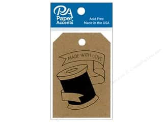 Paper Accents Craft Tags 2 1/8 x 3 in. 25 pc. Spool Brown Bag