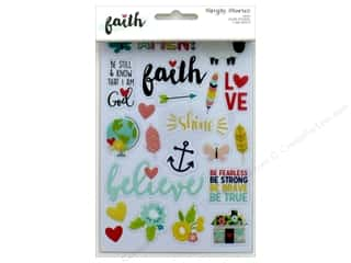 Simple Stories: Simple Stories Collection Faith Sticker Clear