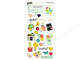 "Simple Stories Collection Faith Chipboard 6""x 12"""
