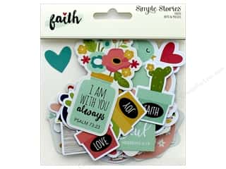 Simple Stories: Simple Stories Collection Faith Bits & Pieces